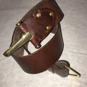 Vince Camuto Leather Belt